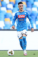 Jose Callejon of Napoli in action during the Serie A football match between SSC  Napoli and SPAL at stadio San Paolo in Naples ( Italy ), June 28th, 2020. Play resumes behind closed doors following the outbreak of the coronavirus disease. <br /> Photo Cesare Purini / Insidefoto