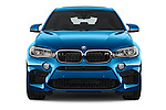 Car photography straight front view of a 2018 BMW X6 M 4 Door SUV
