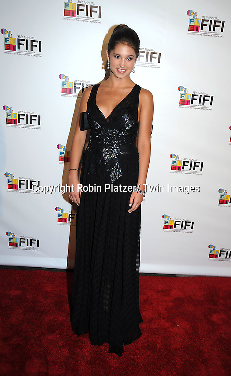Madison Durland attending The 2010 FiFi Awards and Celebration on June 10, 2010 at The Downtown Armory in New York City