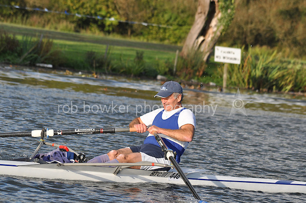 448 BTC .Reading Rowing Club Small Boats Head 2011. Tilehurst to Caversham 3,300m downstream. Sunday 16.10.2011