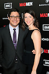 LOS ANGELES, CA - MAR 14: Rich Sommer, wife at AMC's special screening of 'Mad Men' season 5 held at ArcLight Cinemas Cinerama Dome on March 14, 2012 in Los Angeles, California