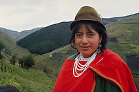 Portrait of an Ecuadorean  woman