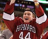 Michael Floodstrand (Harvard - 44) - The Harvard University Crimson defeated the Boston University Terriers 6-3 (EN) to win the 2017 Beanpot on Monday, February 13, 2017, at TD Garden in Boston, Massachusetts.