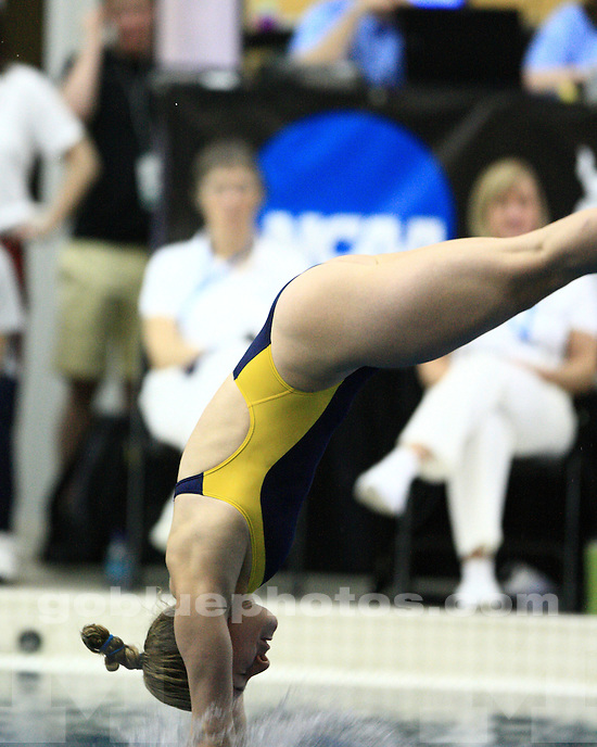 University of Michigan swimming and diving (women) at the NCAA Championships hosted by Purdue University in West Lafayette, IN, on March 18, 2010.
