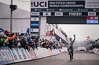 Ben Tulett (GBR) is the new Junior Men World Champion<br /> <br /> UCI CX Worlds 2018<br /> Valkenburg - The Netherlands
