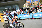 Martijn Tusveld (NED) Team Sunweb during Stage 1 of the La Vuelta 2018, an individual time trial of 8km running around Malaga city centre, Spain. 25th August 2018.<br /> Picture: Ann Clarke | Cyclefile<br /> <br /> <br /> All photos usage must carry mandatory copyright credit (© Cyclefile | Ann Clarke)