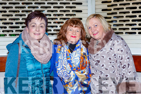 Philis O'Sullivan Betty Moroney both Killarney and Teresa McSweeney Beaufort at the Faith in the Faces of Life's Challanges talk in the Gleneagle Hotel on Wednesday night