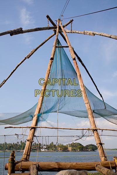 Chinese fishing nets, Fort Cochin, Cochin, Kerala, India