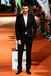 Actor Javier Rey attends to orange carpet of 'Velvet' during FestVal in Vitoria, Spain. September 04, 2018.(ALTERPHOTOS/Borja B.Hojas)