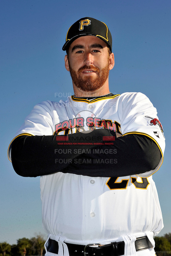 Feb 28, 2010; Bradenton, FL, USA; Pittsburgh Pirates  pitcher Vinnie Chulk (23) during  photoday at Pirate City. Mandatory Credit: Tomasso De Rosa/ Four Seam Images