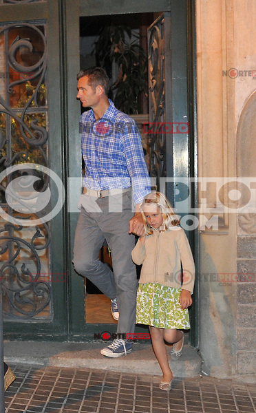 OHPIX.COM - 10SEP12.BARCELONA, SPAIN.INFANTA CRISTINA AND INAKI URDANGARIN WITH SONS IN BARCELONA.NON EXCLUSIVE BY OHPIX.COM /NortePhoto<br />