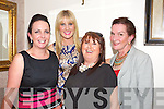 Girls Night Out.  Eve Savage, Tralee, Lorraine Walsh, Tralee, Dawn Morris, Castlemaine, Ann Cournane, Tralee enjoying a night out at Bella Bia's on Friday