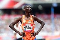 Asbel Kiprop of Kenya after competing in the menís 800 metres during the Muller Anniversary Games at The London Stadium on 9th July 2017