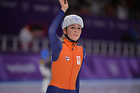 OLYMPIC GAMES: PYEONGCHANG: 24-02-2018, Gangneung Oval, Long Track, Mass Start Ladies, Irene Schouten (NED), ©photo Martin de Jong