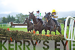 Action from the Killarney Races on Friday evening.
