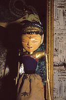 Indonesian puppet .<br /> Marionetta indonesiana