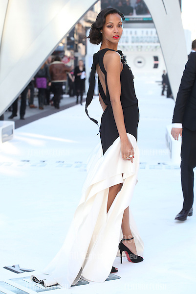 Zoe Saldana arriving for the UK premiere of 'Star Trek Into Darkness' at The Empire Cinema, London. 02/05/2013 Picture by: Alexandra Glen / Featureflash