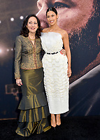"""LOS ANGELES, CA: 01, 2020: Shan-de-Mohra & Janina Gavankar at the world premiere of """"The Way Back"""" at the Regal LA Live.<br /> Picture: Paul Smith/Featureflash"""