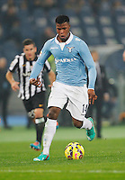 Balde Keita    in action during the Italian Serie A soccer match between   SS Lazio and FC Juventus   at Olimpico  stadium in Rome , November 22, 2014