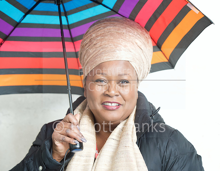 Jumok&eacute; Fashola<br /> BBC, Broadcasting House, london, Great Britain <br /> 5th March 2017 <br /> <br /> <br /> Jumok&eacute; Fashola<br /> Musical Artist &amp; BBC Radio London Presenter <br /> <br /> Photograph by Elliott Franks <br /> Image licensed to Elliott Franks Photography Services