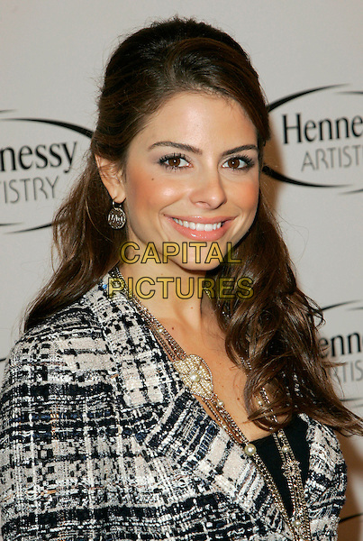 """MARIA MENOUNOS .At Hennessy event to present the """"Global Art of Mixing"""" at Capitiale, New York, New York, USA..October 17th, 2006.Ref: ADM/JL.headshot portrait .www.capitalpictures.com.sales@capitalpictures.com.©Jackson Lee/AdMedia/Capital Pictures."""