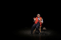 Le comique francais Michel Boujenah sur la scene de l'Olympia de Montréal, le 17 mai 2016.<br /> <br /> French comic Michel Boujenah onstage at the Olympia of Montreal, May 17, 2016.<br /> <br /> PHOTO : Pierre Roussel -  Agence Quebec Presse