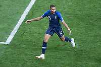 Moscow, RUSSIA - Sunday, July 10, 2018: France beat Croatia 4-2 to clinch the 2018 FIFA World Cup title.