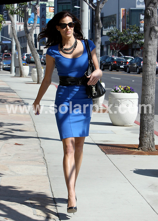 **ALL ROUND PICTURES FROM SOLARPIX.COM**                                             **SYNDICATION RIGHTS FOR UK AND SPAIN ONLY**                                                                                  Caption: Brooke Burns looks like she still has her Baywatch body. She rocked a bright blue dress to Cafe Med, USA, 13 October  2010                                                                            This pic: Brooke Burns                                                                                              JOB REF: 12301       STL       DATE: 13_10_2010                                                           **MUST CREDIT SOLARPIX.COM OR DOUBLE FEE WILL BE CHARGED**                                                                      **MUST AGREE FEE BEFORE ONLINE USAGE**                               **CALL US ON: +34 952 811 768 or LOW RATE FROM UK 0844 617 7637**