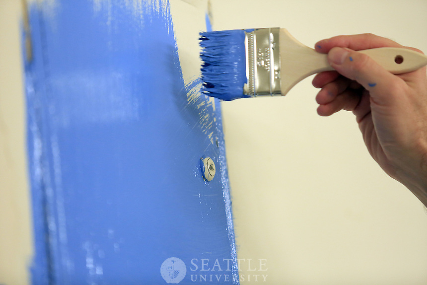 08142014- Seattle University faculty and staff service day.