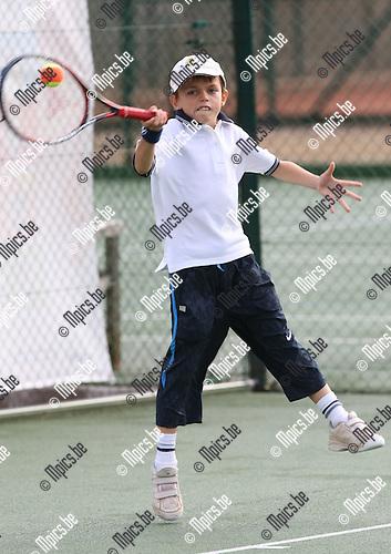2008-09-06 / Tennis / Feest van de Jeugd 2008 / Olivier Ducastel..Foto: Maarten Straetemans (SMB)