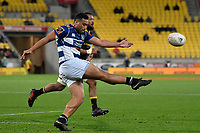 Auckland&rsquo;s Leon Fukofuka in action during the Mitre 10 Cup - Wellington v Auckland at Westpac Stadium, Wellington, New Zealand on Thursday 4 October 2018. <br /> Photo by Masanori Udagawa. <br /> www.photowellington.photoshelter.com