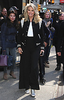 APR 20 Christie Brinkley at 'Good Morning America' in NYC