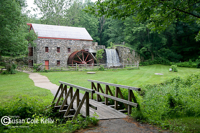 The old gristmill at Longfellow's Wayside Inn, Sudbury, MA
