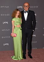 Marco Bizzarri &amp; Petra Collins at the 2017 LACMA Art+Film Gala at the Los Angeles County Museum of Art, Los Angeles, USA 04 Nov. 2017<br /> Picture: Paul Smith/Featureflash/SilverHub 0208 004 5359 sales@silverhubmedia.com