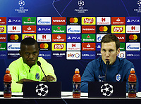 2019 Champions League Genk Press Conference and Training Dec 9th