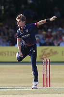 Adam Zampa in bowling action forEssex during Essex Eagles vs Sussex Sharks, Vitality Blast T20 Cricket at The Cloudfm County Ground on 4th July 2018