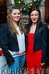 Amy and Marie McKenna, Ballymac, enjoying Women's Christmas at the Meadowlands Hotel, Tralee on Saturday night last.