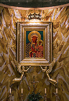 Our Lady of Czestochowa chapel shrine, Basilica of the National Shrine of the Immaculate Conception, Washington DC, USA