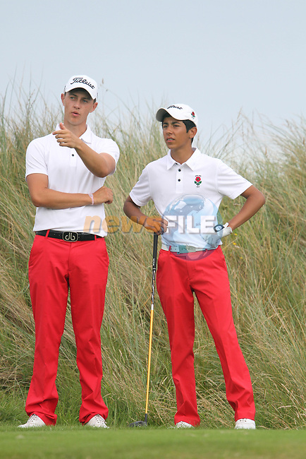 Jack Sing Brar (ENG) on the Final Day of the 2012 Boys Home Internationals at Co.Louth Golf Club in Baltray, Co.Louth...(Photo credit should read Jenny Matthews/NEWSFILE)...