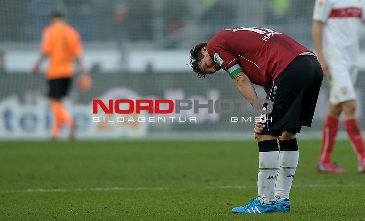 28.02.2015, HDI Arena, Hannover, GER, 1.FBL, Hannover 96 vs VfB Stuttgart, im Bild Christian Schulz (Hannover #19)<br /> <br /> Foto &copy; nordphoto / Frisch
