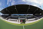 AMSTELVEEN ; Nieuwe veld , de nieuwe  tribune van het Wagener Stadion en Ron Top bijna klaar voor het Europees Kampioenschap. COPYRIGHT KOEN SUYK