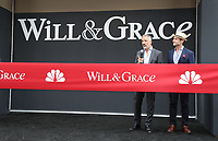 02 August 2017 - Universal City, California.  David Kohan, Max Mutchnick. 'Will & Grace' start of production kick off event and ribbon cutting ceremony at Universal Studios Photo Credit: PMA/AdMedia