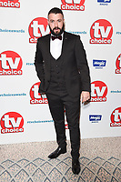 LONDON, UK. September 10, 2018: Shane Ward at the TV Choice Awards 2018 at the Dorchester Hotel, London.<br /> Picture: Steve Vas/Featureflash