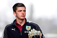Burnley's Nick Pope arrives at the liberty stadium <br /> <br /> Photographer Ashley Crowden/CameraSport<br /> <br /> The Premier League - Swansea City v Burnley - Saturday 10th February 2018 - Liberty Stadium - Swansea<br /> <br /> World Copyright &copy; 2018 CameraSport. All rights reserved. 43 Linden Ave. Countesthorpe. Leicester. England. LE8 5PG - Tel: +44 (0) 116 277 4147 - admin@camerasport.com - www.camerasport.com