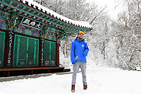 Para - Portraits /  Snowboarder Simon Patmore PyeongChang 2018 Paralympic Games<br /> Australian Paralympic Committee<br /> PyeongChang South Korea<br /> Thursday March 8th 2018<br /> &copy; Sport the library / Jeff Crow