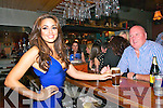 Nadia Forde : Celebrity model Nadia Ford, who appeared on the Celebrity Salon Show presenting a pint to Joe Redmond, Listowel at the Mermaids Nightclub, Listowel on Saturday night last.