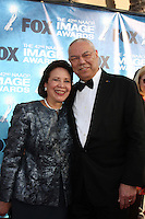 LOS ANGELES -  4: Alma Powell, Colin Powell arriving at the 42nd NAACP Image Awards at Shrine Auditorium on March 4, 2011 in Los Angeles, CA
