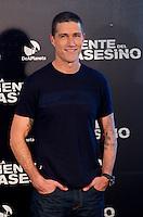 """ATENCAO EDITOR: FOTO EMBARGADA PARA VEÍCULOS INTERNACIONAIS. – MADRI, ESPANHA, 12 OUTUBRO 2012 - SESSAO FOTOS COM ATOR MATTHEW FOX - O ator norte-americano Matthew Fox durante sessao de fotos de divulgacao do filme """"En La Mente El Asesino"""" , no Hotel ME em Madri capital da Espanha, nesta segunda-feira, 12. (FOTO: ALFAQUI / BRAZIL PHOTO PRESS)."""