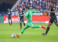 Torwart Yann Sommer (Borussia Mönchengladbach) - 17.02.2019: Eintracht Frankfurt vs. Borussia Mönchengladbach, Commerzbank Arena, 22. Spieltag Bundesliga, DISCLAIMER: DFL regulations prohibit any use of photographs as image sequences and/or quasi-video.