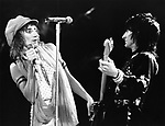 Rod Stewart 1975 with Ron Wood in The Faces......